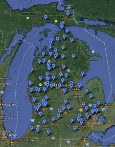 Our Dealers are Located All Over Michigan