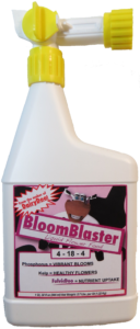 BloomBlaster Liquid Fertilizer for bigger, more vibrant blooms