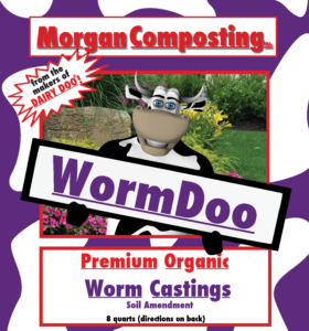 Worm castings make a great organic soil amendment