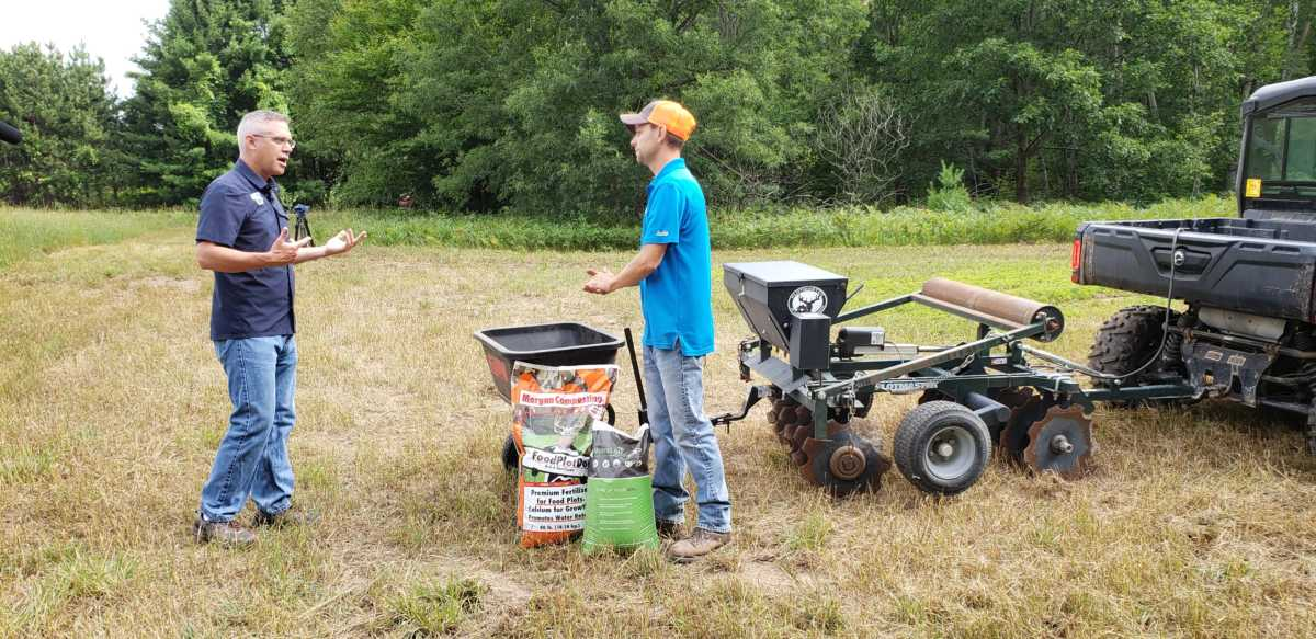What's Growing With Tom 2020: Food Plots Part 1